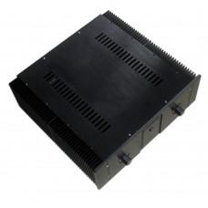 WA20 Aluminum Shell Case Enclosure Protective Box for DAC Amplifier 410*440*150mm