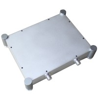 WA22 Aluminum Shell Case Enclosure Protective Box for DAC Amplifier 340*430*92mm