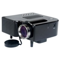 UC28+ Pro Audio Video HDMI Portable Mini LED Projector Movie Home Theater Cinema AV VGA SD TV