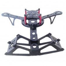 V-Tail Pro 240mm 4-Axis Glass Fiber Quadcopter Frame for FPV Aerial Photography