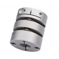 Flexible Aluminum Alloy Double Diaphragm Coupling for Servo Stepper Motor Coupler GL34 26x35 5mm to 14mm CNC