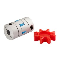 GFC25x30 Plum Blossom Coupling 5mm-12mm Coupler Diaphragm Coupling for Servo Step Motor CNC