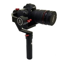 SMG EXT DLSR Single Handheld Gyro 3-Axis Gimbal Electronic PTZ Stabilizer for 6D A7S 5D DV FPV