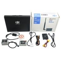 DJI WooKong-M Flight Controller w/IMU GPS + iOSD Mark II+DJI 2.4GHz Datalink Bluetooth & iPad Ground Station Super Combo