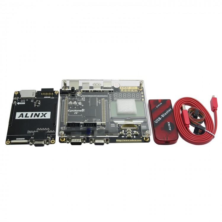 ALTERA FPGA NIOS CYCLONE IV EP4CE15 Development Board +USB BLASTER+