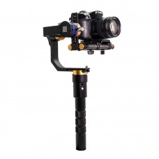WIELDY 3-Axis Gyroscope Handheld Gimbal Micro SLR Stabilizer Camera Mount for GH4 A7S Camera