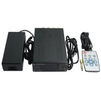 Topping TP32EX 50WPC TK2050 T-AMP LED Coaxial USB DAC Headphone Amplifier + Remote Control-Black
