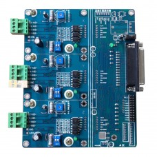 A3977 Step Motor 3-Axis Driver Board 2.5A with Radiator for CNC Mach2 3 EMC KCAM DIY
