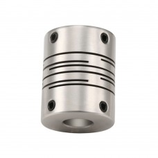 GIG28.5x38 Flexible Stainless Steel Coupling 6mm-14mm Coupler Diaphragm Coupling for Encoder Step Motor CNC