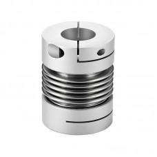 GRC55x72 Bellows Coupling 10mm-25mm Flexible Coupler for Servo Step Motor Encoder CNC