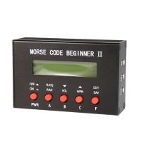 Morse Code Beginner II Short-Wave Radio Transmitter CW Morse Code Telegraph Auto Key Morse Trainer