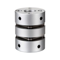 GLJ 68x75 Diaphragm Coupling 14mm-38mm Flexible Coupler for Servo Step Motor Encoder CNC