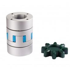 GFZ-30x50 Plum Blossom Expansion Sleeve Coupling 8mm-14mm Flexible Coupler for Servo Step Motor CNC
