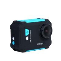 "REMAX SD01 Waterproof Digital FHD 1080P Camera 1.5"" LCD WiFi Anti-Shake Sport DV Camcorder Video Recorder-Blue"