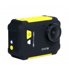 "REMAX SD01 Waterproof Digital FHD 1080P Camera 1.5"" LCD WiFi Anti-Shake Sport DV Camcorder Video Recorder-Yellow"