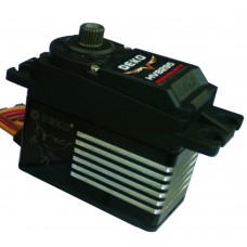 DEKO HV8295 Digital High Wattage Servo Waterproof Metal Gear Brushless Motor RC Servo-Black