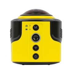 Detu Sphere800 VR Virtual Reality 8-Megapixel Panoramic Camera 360 Deg 1080P WIFI Wireless Cam