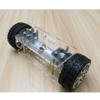 A-Type Two-Wheel Self-Balance Car Chassis Kit Car Chassis Frame for DIY Robot Model