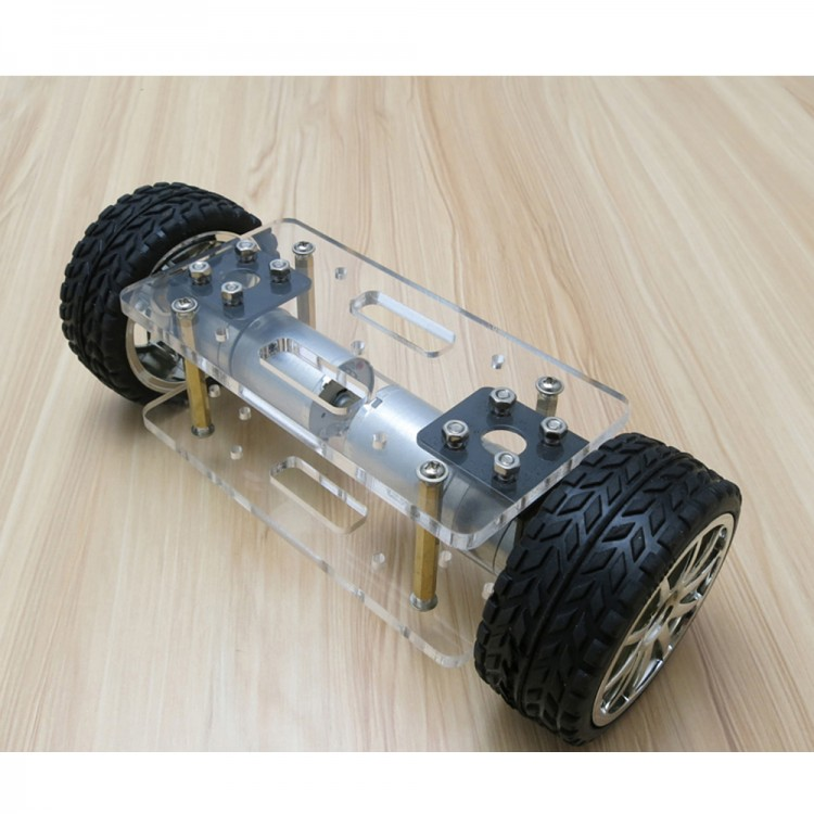 A-Type Two-Wheel Self-Balance Car Chassis Kit Car Chassis Frame for ...