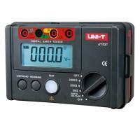 UNI-T UT522 LCD Digital Megger Earth Ground Insulation Resistance Tester Meter Lightning Rod Lightning Detector Low Tester