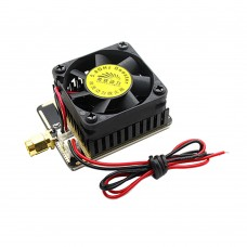 5.8G 3W 4.5W Image Transmission FPV Transmitter Signal Booster Amplifier for Multicopter - Black