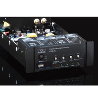 STM-I6B HIFI Optical Fiber Coaxial Headphone Amplifier Bluetooth 4.0 U-Disk Digital Audio DAC Decoder-White