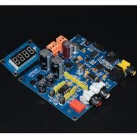 CS4398 DAC Decoder AK4118 Digital Receiver Board with Sampling Rate Display Analog Circuit 5532 for DIY