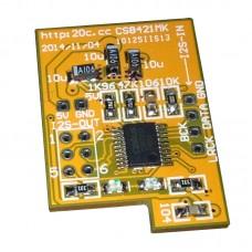 SRC 4392 IPFB Sample Rate Converter 24 BIT 216 KSPS 48-Pin TQFP