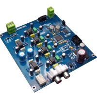 Semifinished AK4495SEQ 32Bit DAC Decoder Board Dual Channel I2S DSD Input for Audio DIY