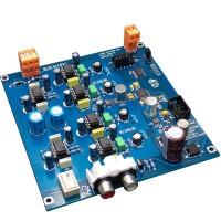 Semi-Finished AK4490EQ DAC Decoder Board Dual channel I2S DSD Input for Audio DIY