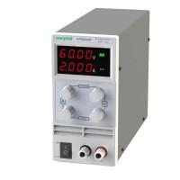 KPS602DF Adjustable Double LED Display Switch DC Power Supply Protection Function 60V 2A 110V-230V 0.1V 0.001A