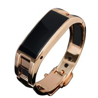 D8 Bluetooth Bracelet Smartwatch Smart Bangle Fashion Jewelry Luxury Watch for Android IOS System-Black