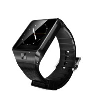 GV08 Smart Watch 1.5 inch 2.0M Camera Support SIM Card Bluetooth Pedometer for Android Phone-Black
