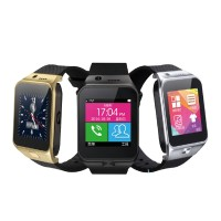 GV09 Metal Frame Smart Watch Phone Support SIM TF Card Sleep Monitor Pedometer Android Wristwatch