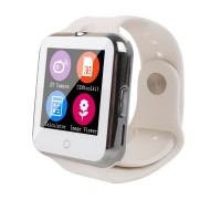 Bluetooth Smart Watch C88 Sync Notifier Pedometer Support SIM TF Card Waistwatch for iPhone iOS Android 0.3 MP Camera