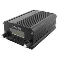 CZH-7C DC9V-15V 7W Stereo LCD Broadcast Radio Station FM Transmitter Wireless Audio System