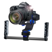 Nebula 4200 Pro Double Handle Gyro Stabilizer Gimbal Camera Mount PTZ with 32bit Control Board for DSLR 5D3 6D 7D