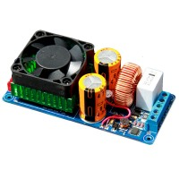 IRS2092S High Power Class D 500W HIFI Single Channel Audio Amplifier Board Better than LM3886 for DIY