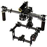 NEW 3-Axis DSLR Handheld Brushless Gimbal Camera Mount Handle PTZ with Motor for DSLR
