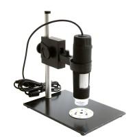 U613 GAOSUO 8 LED Digital Microscope 50X- 600X 2M Pixel HD CMOS Sensor Magnifier for Measurement Calibration
