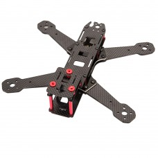 BeeRotor Mini Carbon Fiber 4-Axis Racing Quadcopter 210MM QAV210 BR210 FPV with Upgraded PDB