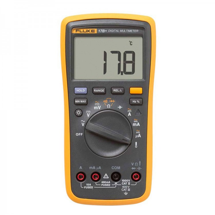 Fluke Capacitor Meter : Fluke b lcd digital multimeter auto meter for frequency