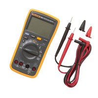 FLUKE F18B+ Digital Multimeter Meter LED DMM with TL75 Test Leads AC DC Voltage Current Tester