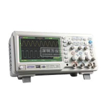 Digital Storage 100MHz Oscilloscope Scopemeter 2Channels 1GSa/s USB 7'' TFT LCD AC 110-240V GA1102CAL