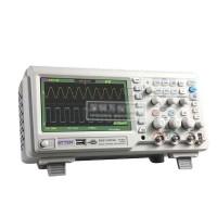 GA1202CAL Digital Storage 200MHz Oscilloscope Scopemeter 2 Channels 1GSa/s USB 7'' TFT LCD