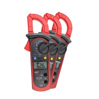UT202A DC Voltage AC Current Handheld Clamp LCD Digital Multimeter Voltmeter Ammeter Ohmmeter Ohm Tester