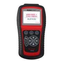 Original Autel AutoLink AL619EU OBDII CAN ABS And SRS Scanner Tool Update Online Diagnostic Tool