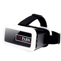 VR BOX 3.0 Plastic Google Cardboard VR 3D Virtual Reality Glasses Helmet for 4.0-6 inch Smartphone-White