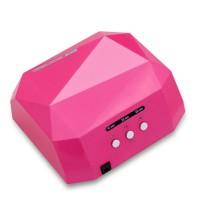 36W UV Lamp LED Ultraviolet Lamp UV Nail Dryer Nail Lamp Diamond Shaped CCFL Curing for UV Gel Nails Polish Nail Art Tool
