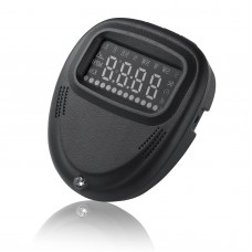 A1 GPS Head Up Display 2.0 inch Vehicle System Speedometer KMH MPH with Overspeed Alarm for All Car